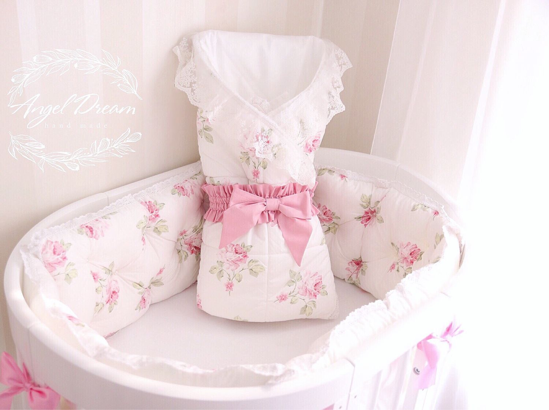 Комплект в кроватку для новорожденных своими руками выкройки