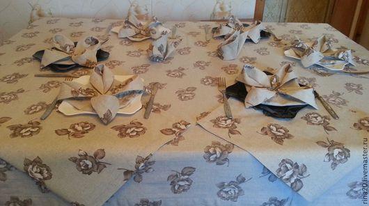 Текстиль, ковры ручной работы. Ярмарка Мастеров - ручная работа. Купить Текстиль для сервировки стола. Handmade. Скатерть, текстиль для интерьера