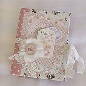 Канцелярские товары handmade. Livemaster - original item Photo album for girls