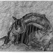 Картины и панно ручной работы. Ярмарка Мастеров - ручная работа Рисунки. Handmade.