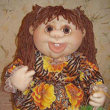 """Куклы и игрушки ручной работы. Ярмарка Мастеров - ручная работа """"Солнечная девочка"""" кукла на чайник. Handmade."""