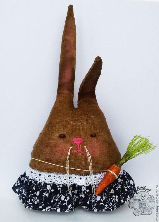 """Ароматизированные куклы ручной работы. Ярмарка Мастеров - ручная работа. Купить чердачная игрушка """"Кролик"""". Handmade. Коричневый, кроль, кролики"""