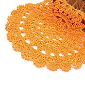 Декоративные салфетки ручной работы. Ярмарка Мастеров - ручная работа Салфетка вязаная крючком. Handmade.