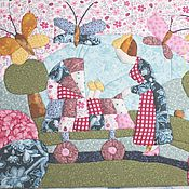 """Картины и панно ручной работы. Ярмарка Мастеров - ручная работа Картина в лоскутной технике """"Мама и малыш"""". Handmade."""