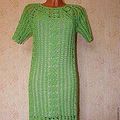 """Одежда ручной работы. Ярмарка Мастеров - ручная работа платье летнее ажурное """"свежесть зелени"""". Handmade."""