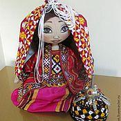 Куклы и игрушки ручной работы. Ярмарка Мастеров - ручная работа Туркменская невеста - Гелин. Handmade.