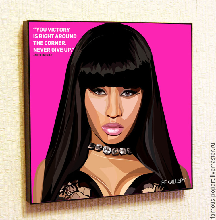 Picture poster Nicki Minaj Pop Art, Fine art photographs, Moscow,  Фото №1