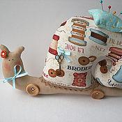 Куклы и игрушки ручной работы. Ярмарка Мастеров - ручная работа Швейная Улитка. Handmade.