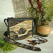 Сумки и аксессуары handmade. Livemaster - original item Woven bag Ingrid. Handmade.