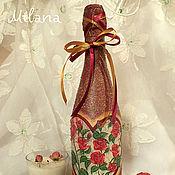 Сувениры и подарки ручной работы. Ярмарка Мастеров - ручная работа С любовью к тебе...Подарочное оформление бутылок. декупаж. Handmade.