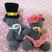 Куклы и игрушки ручной работы. Ярмарка Мастеров - ручная работа Леди и Джентльмен. Handmade.