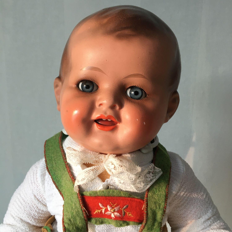 Винтаж: Антикварный пупс, Германия, Куклы винтажные, Пермь,  Фото №1
