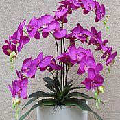 Цветы и флористика ручной работы. Ярмарка Мастеров - ручная работа Имитация орхидеи. Handmade.
