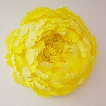 Цветы и флористика ручной работы. Ярмарка Мастеров - ручная работа Пион из гофрированной бумаги. Handmade.