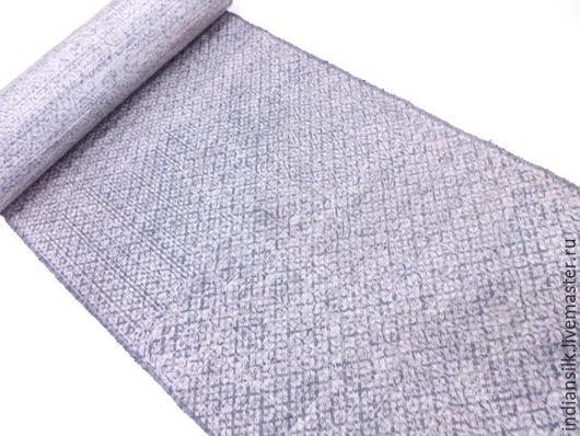 Шитье ручной работы. Ярмарка Мастеров - ручная работа. Купить Антикварная японская шерсть 70х. Handmade. Комбинированный, ткань для одежды