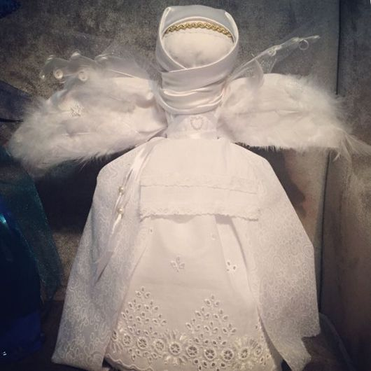 Народные куклы ручной работы. Ярмарка Мастеров - ручная работа. Купить Ангел. Handmade. Кукла ручной работы, кукла текстильная
