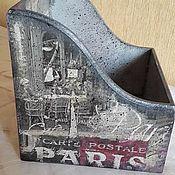 """Для дома и интерьера ручной работы. Ярмарка Мастеров - ручная работа Короб """"Я покажу тебе Париж!"""". Handmade."""