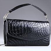 Сумки и аксессуары handmade. Livemaster - original item Women`s clutch bag crocodile leather IMA0706B4. Handmade.