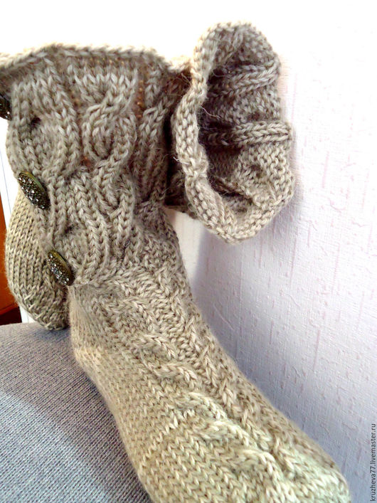 Носки, Чулки ручной работы. Ярмарка Мастеров - ручная работа. Купить Носки 36-38 размера из шерсти, красивые и теплые. Handmade.