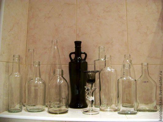 Упаковка ручной работы. Ярмарка Мастеров - ручная работа. Купить Стеклянные бутылочки, баночки, сосуды для творчества.. Handmade. Стекло