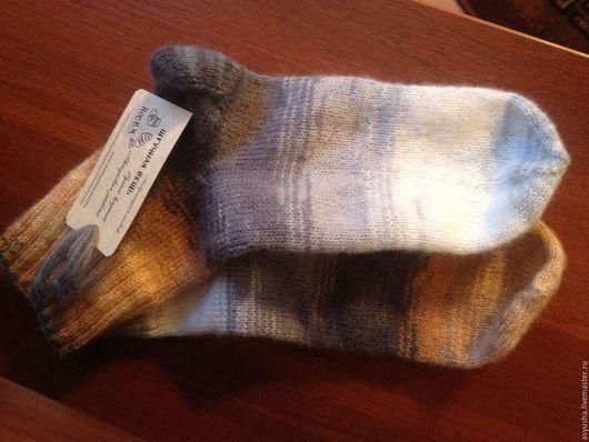 Носки, Чулки ручной работы. Ярмарка Мастеров - ручная работа. Купить носки ручной работы (мохер). Handmade. Ручная работа