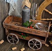 Для дома и интерьера ручной работы. Ярмарка Мастеров - ручная работа «Живительный эликсир» Тележка для кухни. Handmade.