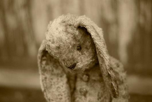 Мишки Тедди ручной работы. Ярмарка Мастеров - ручная работа. Купить Зайка Стеша, 37 см. Handmade. Бежевый