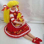 Куклы и игрушки ручной работы. Ярмарка Мастеров - ручная работа Кукла Элли-птичница. Handmade.