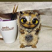 Куклы и игрушки ручной работы. Ярмарка Мастеров - ручная работа ночной дух из леса - Имп оливковая. Handmade.