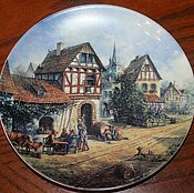 Винтаж handmade. Livemaster - original item Beautiful plates series
