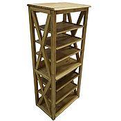 Для дома и интерьера handmade. Livemaster - original item Bergen shelving with removable shelves. Handmade.