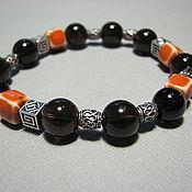 Украшения handmade. Livemaster - original item Bracelet with rauch topaz