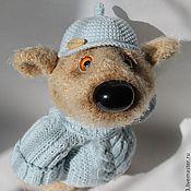 Куклы и игрушки ручной работы. Ярмарка Мастеров - ручная работа вязаная игрушка Медведь-улыбашка. Handmade.