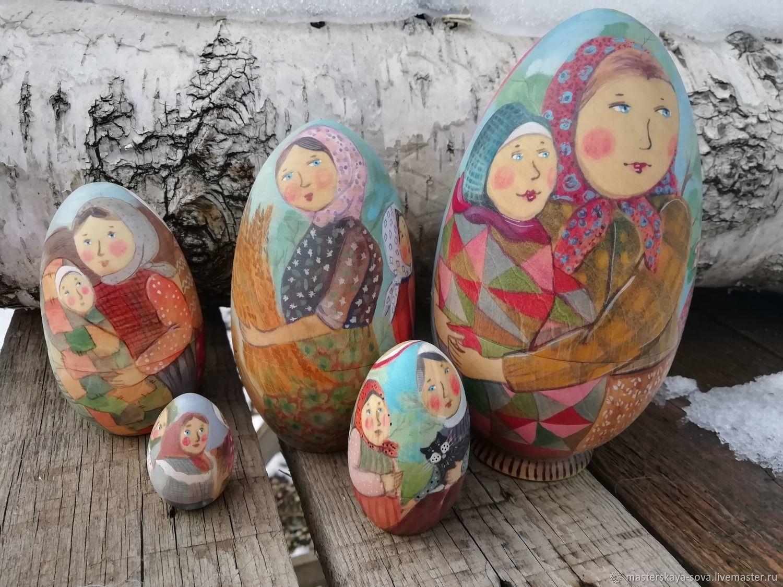 Matryoshka ' Peasant troubles', Dolls1, Zheleznovodsk,  Фото №1