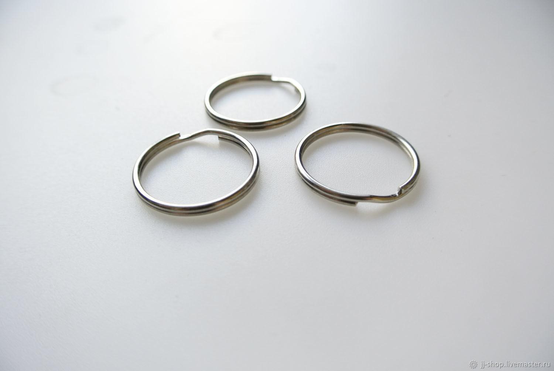 Металлическое кольцо для брелоков, Фурнитура, Москва,  Фото №1