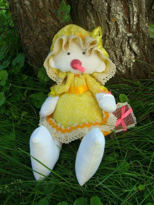 Развивающие игрушки ручной работы. Ярмарка Мастеров - ручная работа. Купить Кукла-сплюшка. Handmade. Кукла ручной работы