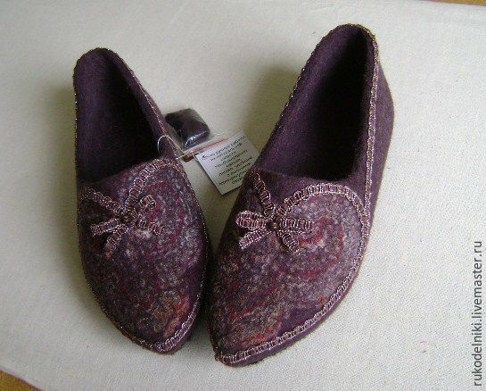 Handmade Shoes handmade. Livemaster - handmade. Buy Slippers Oriental tales. The author's work.Gift, brown, handmade shoes
