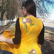 """Одежда ручной работы. Ярмарка Мастеров - ручная работа жилет """"Лючия"""". Handmade."""