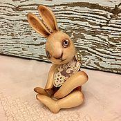 Куклы и игрушки ручной работы. Ярмарка Мастеров - ручная работа Деревянный заяц. Handmade.