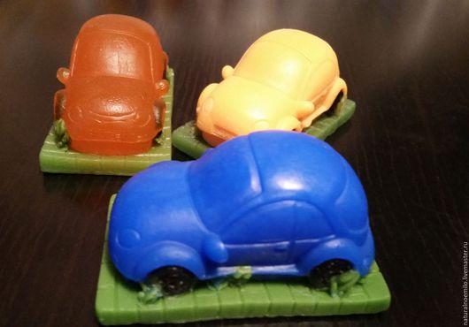 Мыло ручной работы. Ярмарка Мастеров - ручная работа. Купить Автопарк. Handmade. Разноцветный, мыло для мужчин, краситель