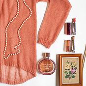 Одежда ручной работы. Ярмарка Мастеров - ручная работа Блуза Airy лосось. Handmade.