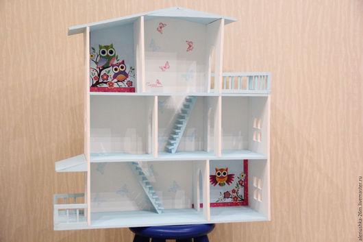 Кукольный дом ручной работы. Ярмарка Мастеров - ручная работа. Купить Дом для кукол. Handmade. Комбинированный, кукольный дом