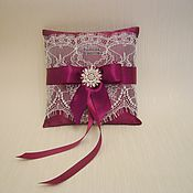 Свадебный салон handmade. Livemaster - original item Cushion for rings