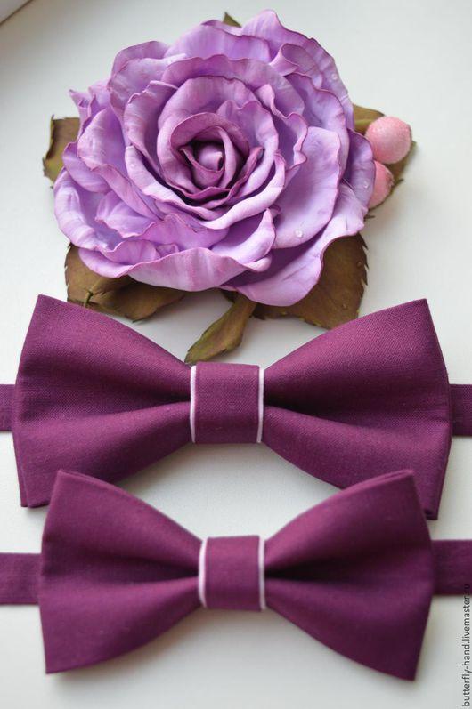 Галстуки, бабочки ручной работы. Ярмарка Мастеров - ручная работа. Купить галстук - бабочка комплект. Handmade. Комбинированный, бабочка для малыша