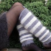 Аксессуары handmade. Livemaster - original item Leg warmers feather Fashion stuff. Handmade.