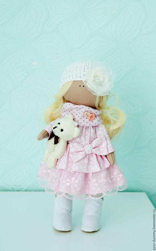 Коллекционные куклы ручной работы. Ярмарка Мастеров - ручная работа. Купить Кукла Соня. Handmade. Розовый, кукла в подарок