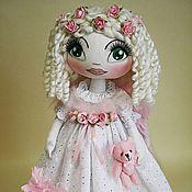 Куклы и игрушки ручной работы. Ярмарка Мастеров - ручная работа Ангелочек «Розовая мечта». Handmade.