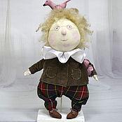 Куклы и игрушки ручной работы. Ярмарка Мастеров - ручная работа Текстильная кукла Король розовых чаек. Handmade.