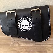 Дорожная сумка ручной работы. Ярмарка Мастеров - ручная работа Сумка-кофр для Harley Davidson v-rod. Handmade.