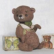 Куклы и игрушки ручной работы. Ярмарка Мастеров - ручная работа Славик. Мишка тедди.. Handmade.